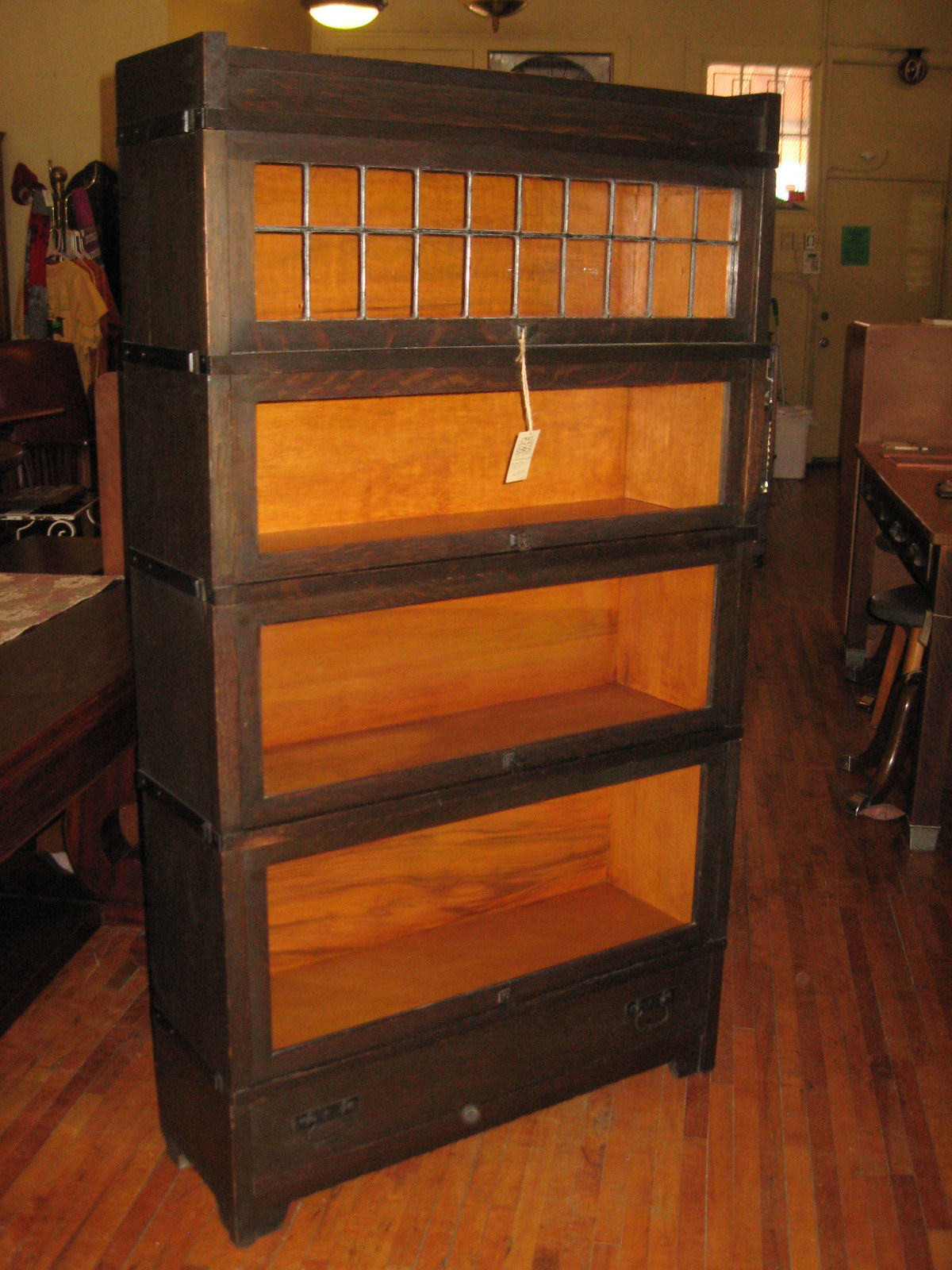 Globe Wernicke Mission Oak Barrister Bookcase Euro